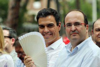 Cataluña: El PSC claudica otra vez ante los 'indepes' y deja retratado a Sánchez