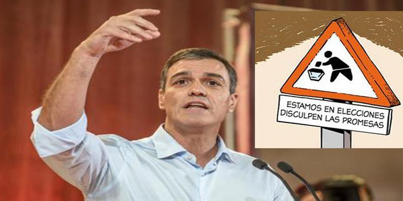 Humor: el chiste de los dos españoles, el gandul de Pedro Sánchez y la crisis