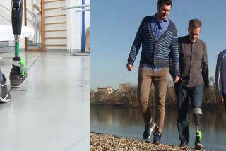 La pierna protésica que se conecta a los nervios podría mejorar mucho la calidad de vida