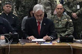 """Piñera: """"Chile está en guerra contra un enemigo poderoso"""""""