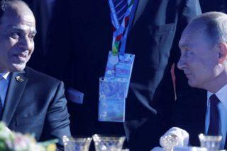 Putin se cachondea de Al Sisi diciéndole que compartirá su salario con él