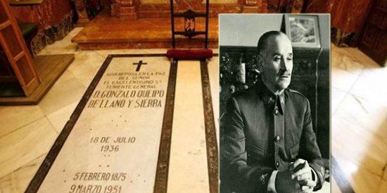 Esto solo acaba de empezar: socialistas y comunistas piden ahora sacar a Queipo de Llano de la basílica de la Macarena