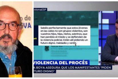 Chema Crespo llama 'hija de puta' a una cupera pero olvida que su jefe Roures es quien les jalea y protege