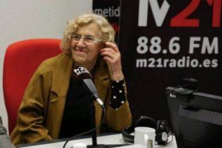 Carmena y los de Podemos se gastaron 4,3 millones en una radio con 462 oyentes diarios, que el PP ha tenido la cordura de cerrar