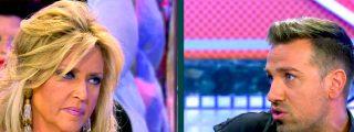 """Cruce de 'zascas' en 'Sálvame' entre Lydia Lozano y Rafa Mora: """"Eres un Matamoros de garrafón"""""""
