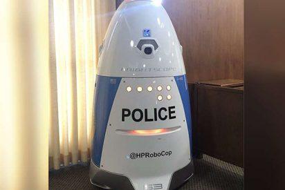 Este RoboCop californiano tuvo que lidiar con su primer crimen, y no salió bien