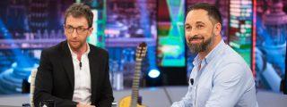 Pablo Motos le 'roba' 22 diputados a Santiago Abascal antes de comenzar la entrevista