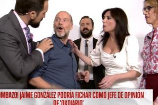 Jaime González ficha por OKdiario y defiende a Periodista Digital de los ataques de los teleñecos de Risto Mejide