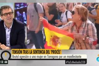 EN DIRECTO El Quilombo / 'Ya es Mediodía' manipula las imágenes para ocultar la brutal agresión a la mujer y un exdircom del PSOE la acusa de ir a provocar