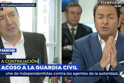 'El Extintor' desvela el día en el que Castillón cavó su fosa en 'Espejo Público': atacó al director de la TV3 ante una acobardada Griso