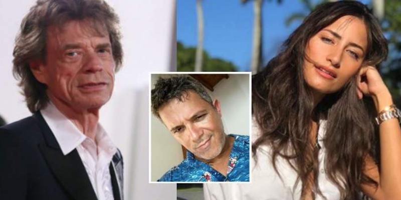 Seguro que no sabías que la nueva novia de Alejandro Sanz también salió con Mick Jagger