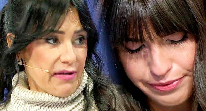 Sofía Suescun se derrumba en plató ante el egoísmo de su madre Maite Galdeano