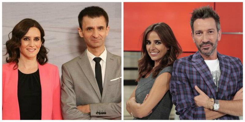 La 'real' bronca de Isabel Díaz Ayuso al inane director general de Telemadrid por unas burlas subidas de tono contra la Infanta Elena