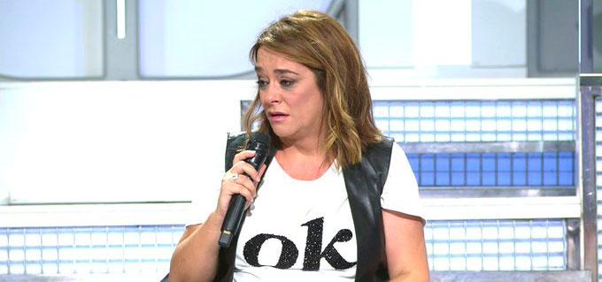 Toñi Moreno indignada al ser 'víctima' de un titular falso