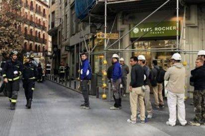 Trabajador muere al caer ocho pisos por el hueco del ascensor de un edificio en obras de la Gran Vía de Madrid
