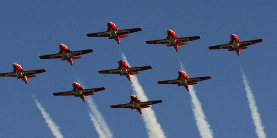 Un avión acrobático canadiense se estrella en EE.UU. antes de un espectáculo aéreo