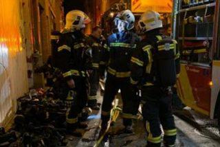 Un joven de 28 años muere en el incendio de un trastero en Madrid