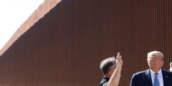 Unos escaladores treparán por una réplica del muro de Trump para comprobar su dificultad