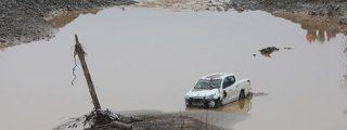 Varios muertos tras colapsar este dique