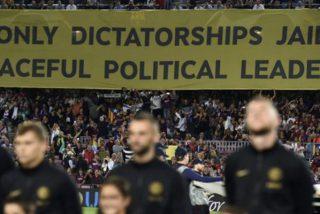 Vergonzoso: El Camp Nou tacha de «dictadura» a España en otro aquelarre independentista