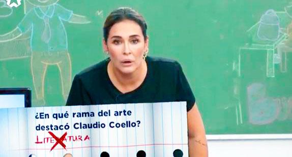 Vicky Martín Berrocal pone en evidencia su 'bajo nivel cultural' y confunde a Claudio Coello con Paulo Coelho