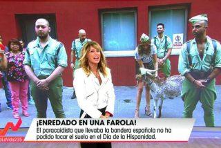 """Idigncación ante lo que ha hecho el programa 'Viva la vida' como """"homenaje"""" al día de la Fiesta Nacional"""