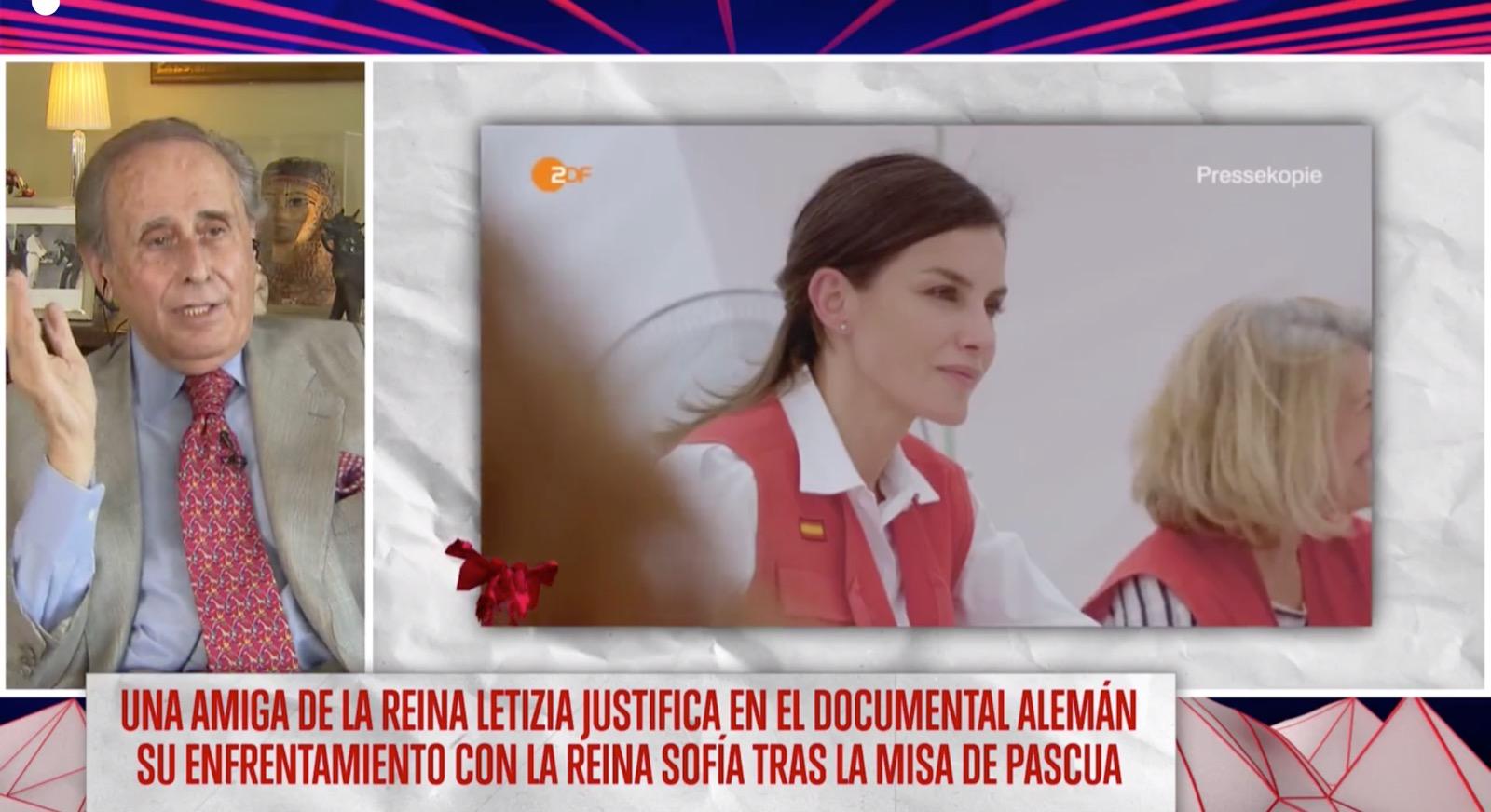 """Jaime Peñafiel vuelve a embestir contra la reina Letizia: """"Está obsesionada con su físico desde el 11M"""""""