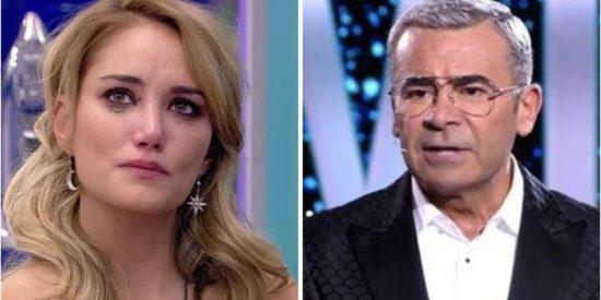 La crueldad con la que Jorge Javier Vázquez machaca a Alba Carrillo: ¿Por qué en 'GH VIP 7' no cuidan de las personas con problemas emocionales?