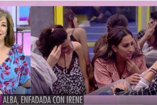 Ana Rosa Quintana hunde y destapa el juego rastrero de Estela Grande ('GH VIP 7')