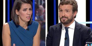 No se podrá creer la tremenda bobada que le pregunta Ana Pastor a Pablo Casado sobre los independentistas...