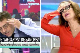 El tipo más pedante de la televisión en España harta hasta a la presentadora más paciente