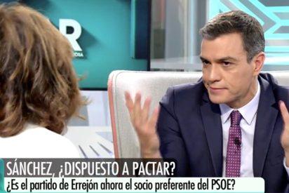 La loca respuesta de Pedro Sánchez sobre Errejón a una pregunta nada convencional de Ana Rosa