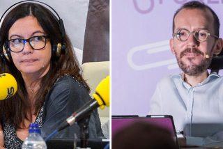El 'capo' Echenique ya no se tapa y pretende marcarle la agenda temática y las preguntas a Ángels Barceló