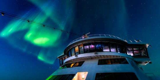 """Descubre las espectaculares """"Auroras Boreales"""" a bordo de un crucero"""