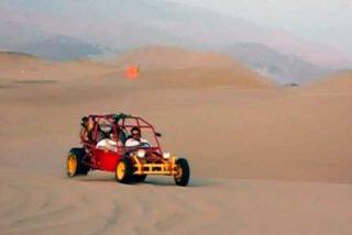 Adrenalina pura: Surcando el infernal desierto de Ica, Perú