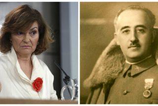 """Alfonso Ussía se parte la caja con el último destino que en TVE le quieren dar a Franco: """"Reposar al lado de los restos de Carmen Calvo es una cabronada"""""""