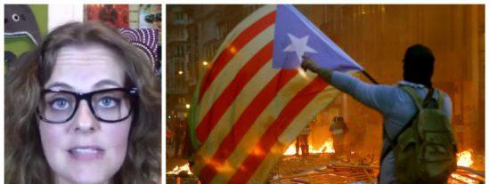 Una valiente catalana destapa en tres soberbios minutos las amenazas de muerte y las pacíficas mentiras del golpismo