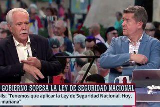 """Repaso descomunal de Pérez Henares a los acojonados monigotes de Ferreras con los independentistas: """"¡Prudencia sí, idiota no!"""""""