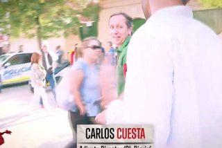 Carlos Cuesta manda a esparragar al reportero pesado de Mejide que quiso tocarle las narices con su presencia en el acto de VOX