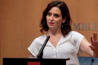 Isabel Díaz Ayuso en la Asamblea de Madrid.