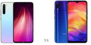Diferencias entre el Xiaomi Redmi Note 8 y el Redmi Note 7