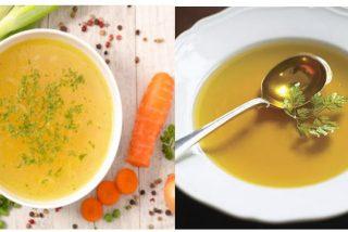 Diferencia entre caldo y consomé