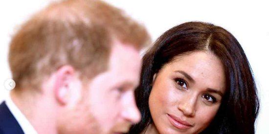 Meghan Markle y el príncipe Enrique y lo que la Casa Real británica no quería que viéramos