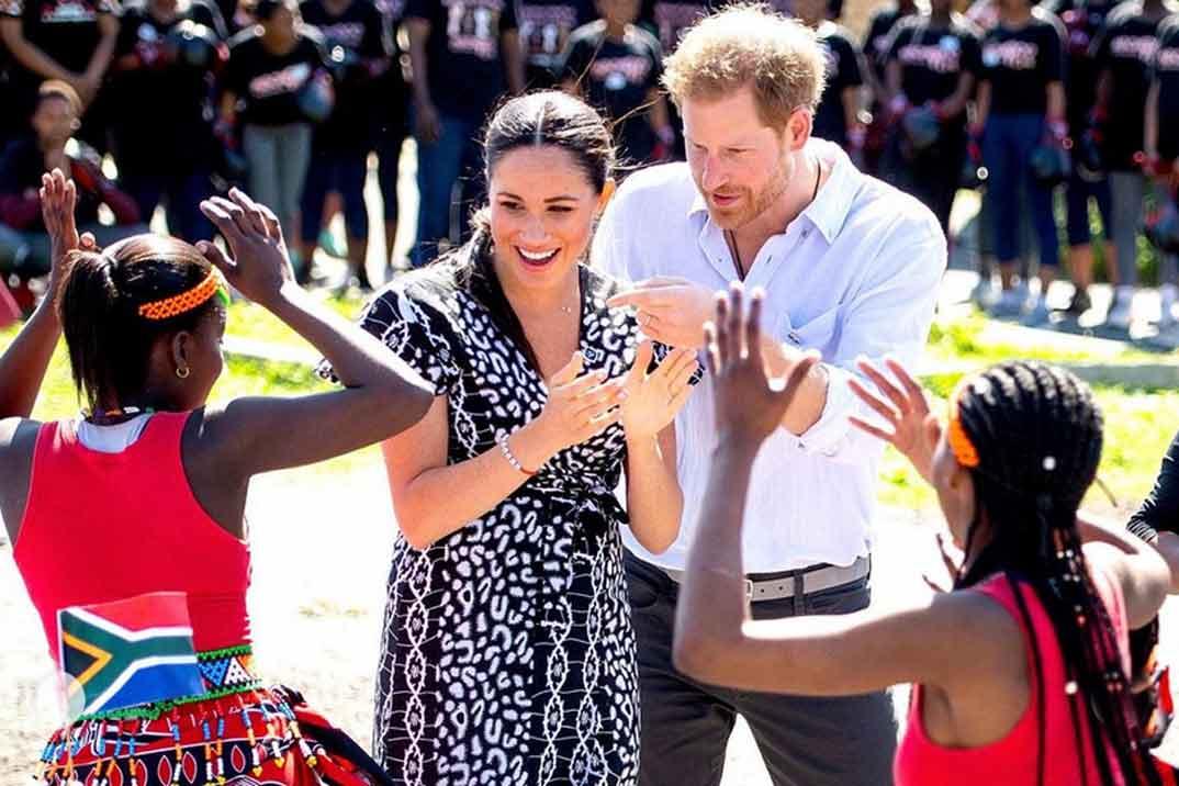 Los duques de Sussex limpian su imagen durante su viaje a África