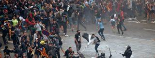 La Policía desactiva una bombona de gas manipulada en el centro de Barcelona