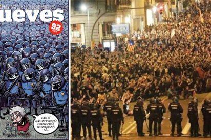 El Jueves, la revista que manipula la realidad, se alinea de forma despreciable con los violentos catabatasunos