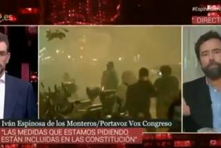 """Espinosa (VOX) le hace la trepanación en vivo a los doctores catalanes que arremetieron contra los policías heridos: """"Estos médicos están enfermos"""""""