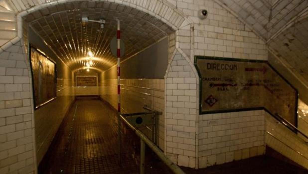 Halloween en el Metro de Madrid: el andén fantasma de Chamberí te propone una «tarde de miedo»