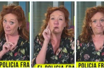 """Una desquiciada Fallarás da el pregón contra Franco en la TV golpista: """"Ni un curilla fascista ni una familia de criminales nos dirán lo que hay que hacer"""""""