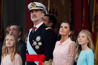Día de la Hispanidad 2019: los Reyes de España en el Desfile Militar